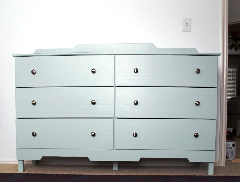 IKEA Tarva Dresser Instructions