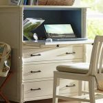 IKEA White Desk With Drawers