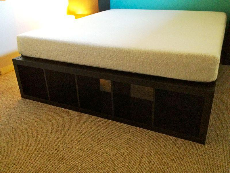 King Platform Bed With Storage
