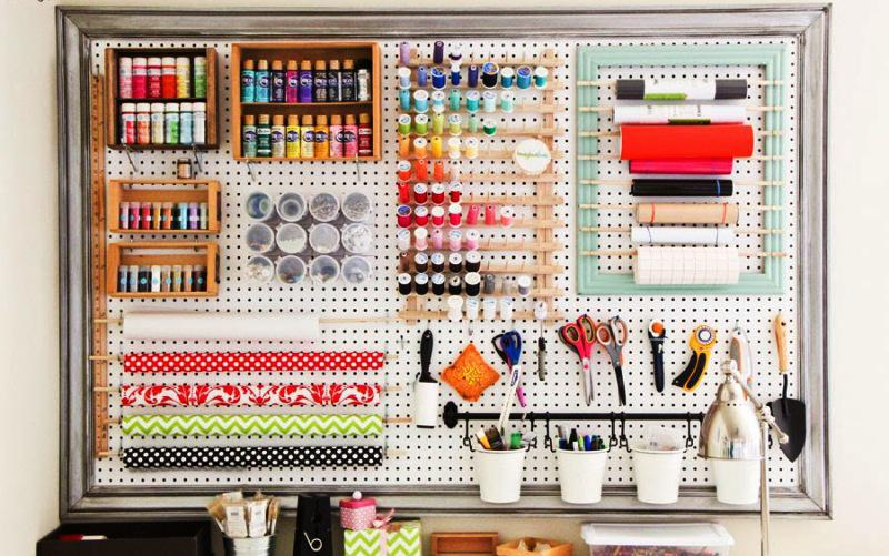 Pegboard IKEA Accessories