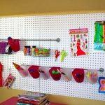 Pegboard IKEA Kids Room