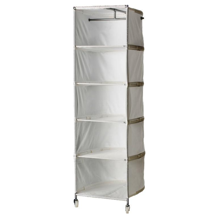 Portable Closet IKEA On Wheels