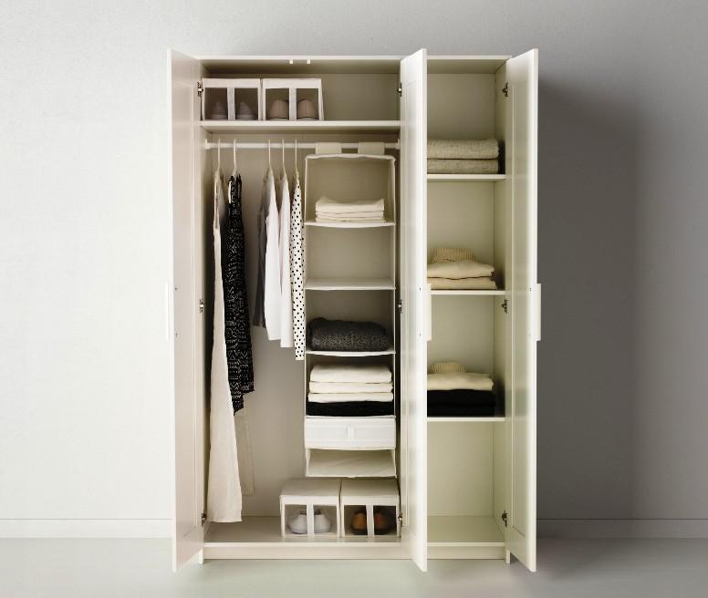 Portable Closet IKEA Shelves
