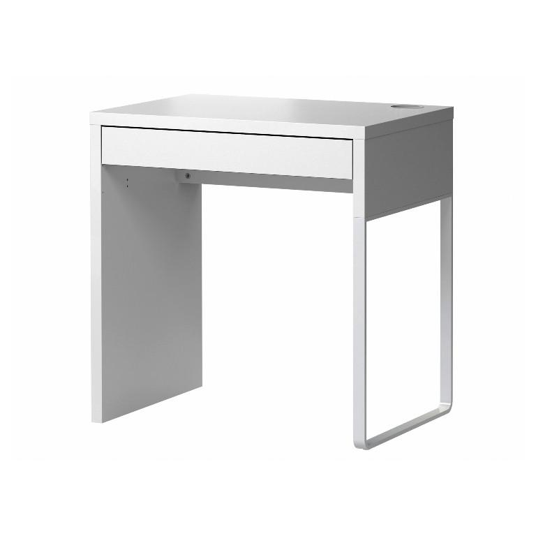 Small White Desk IKEA