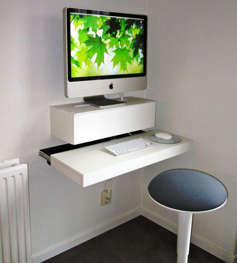 White Computer Desk IKEA