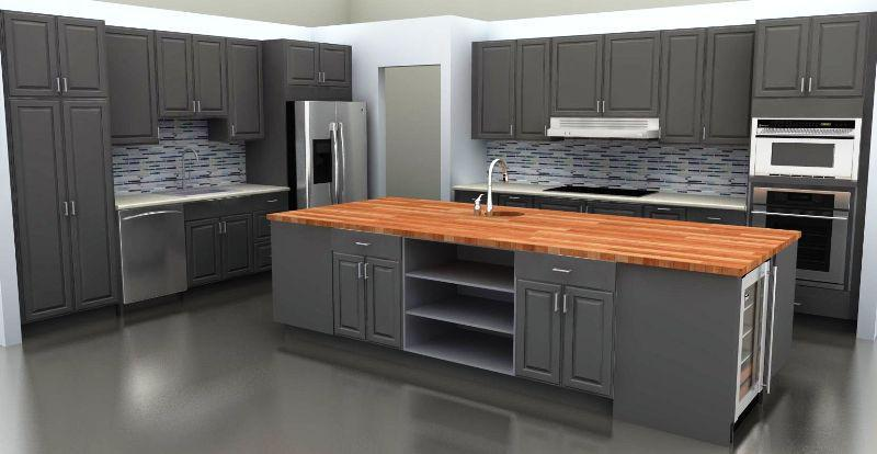 Wood Countertops For Kitchen Islands