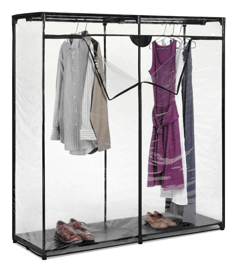 Zipped Portable Wardrobe Closet IKEA Cheap