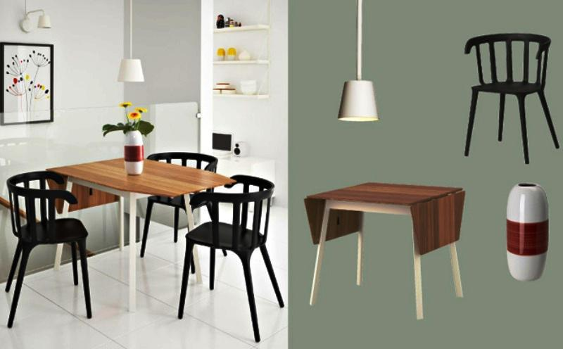 Image of: Awesome IKEA Dining Chairs Designs