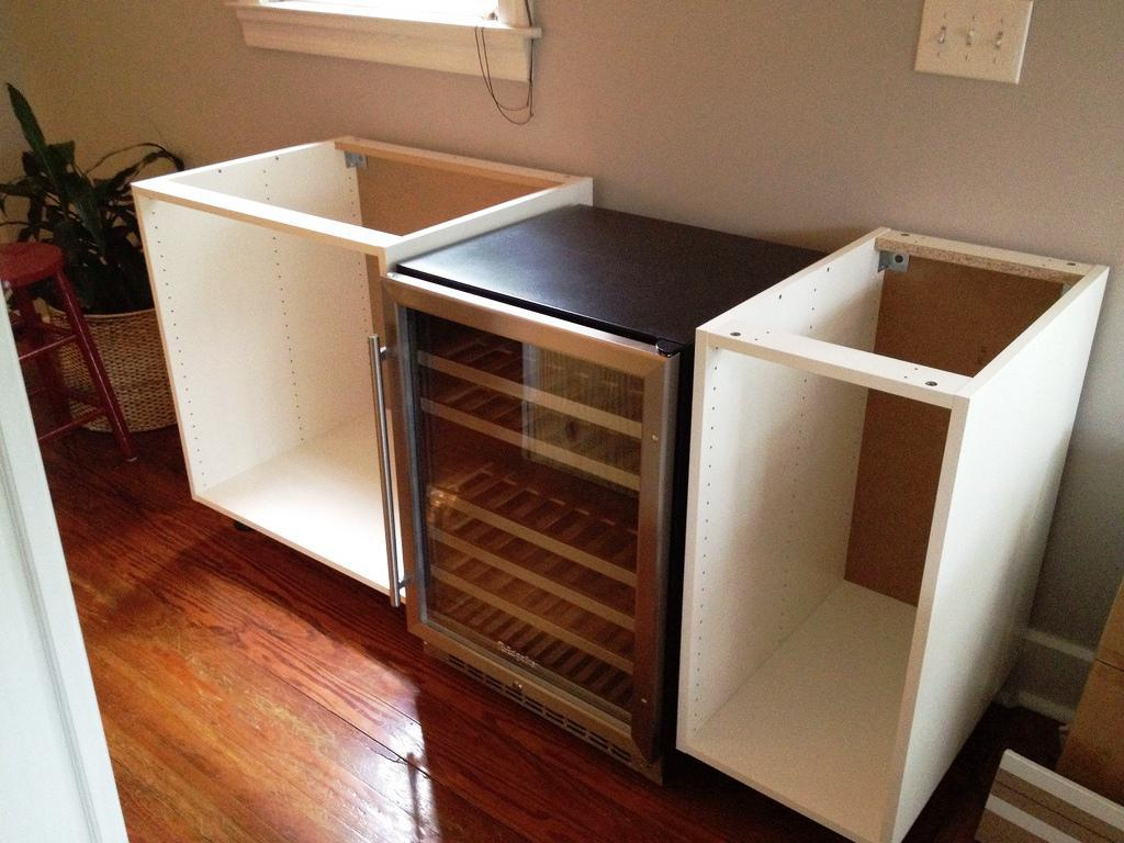 Bar Cabinet IKEA Hack Design Ideas