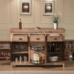Bar Cabinet IKEA Storage Display Design Ideas