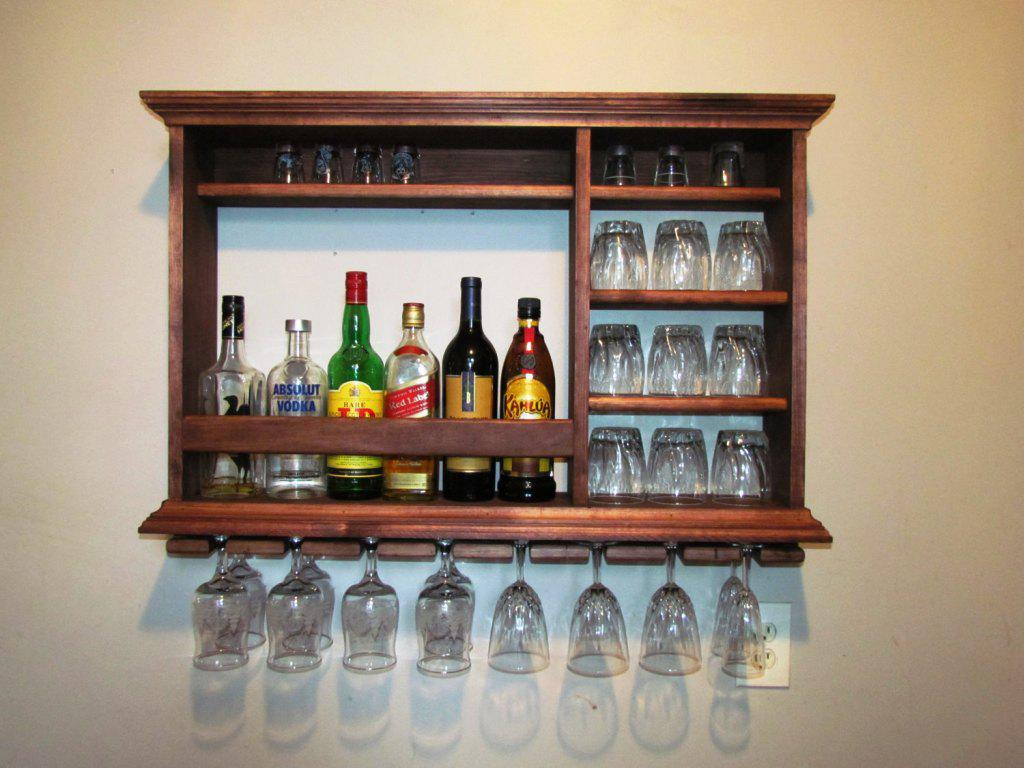 Bar Cabinet IKEA Wall Mounted