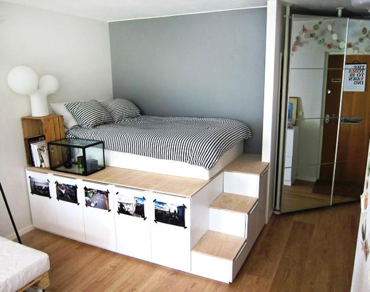 Cabinet Bed IKEA Design Ideas