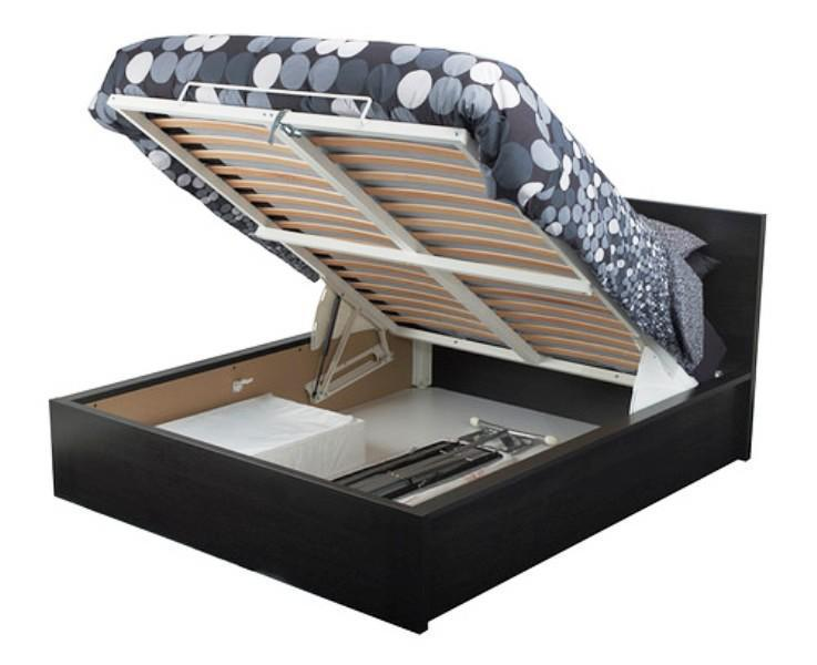 Image of: Cabinet Bed IKEA MALM Ottoman Bed