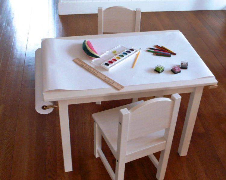 Image of: Childrens Desk And Chair Set