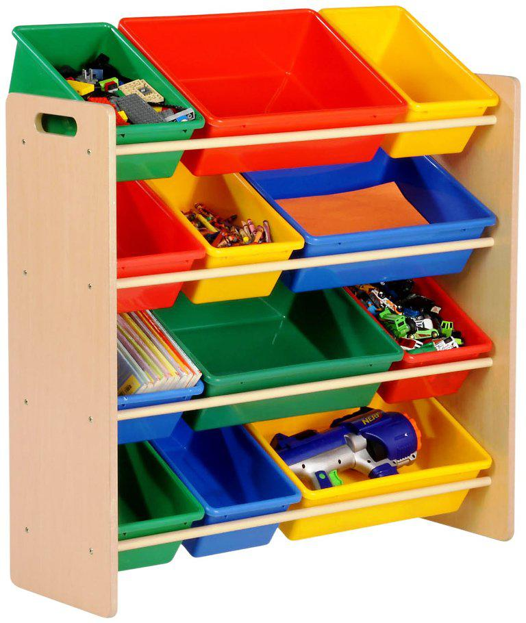 Colorful IKEA Storage Bins