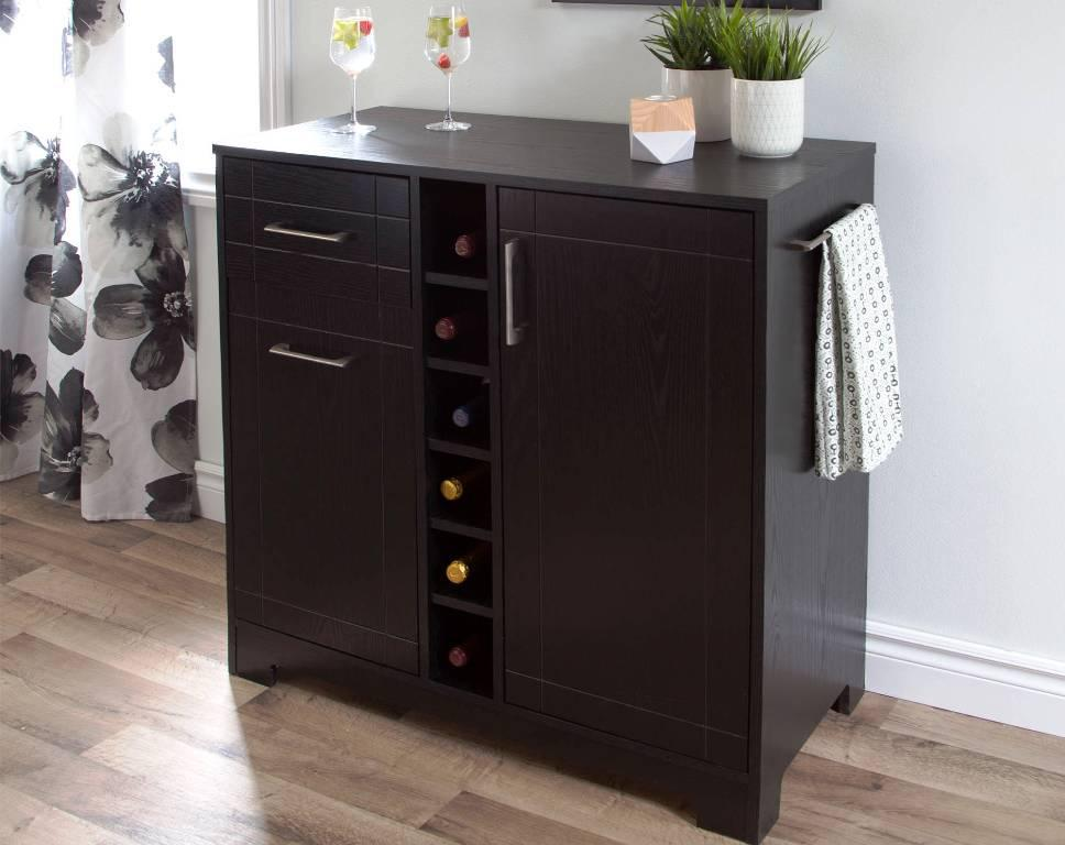 Contemporary Bar Cabinet IKEA Design Ideas