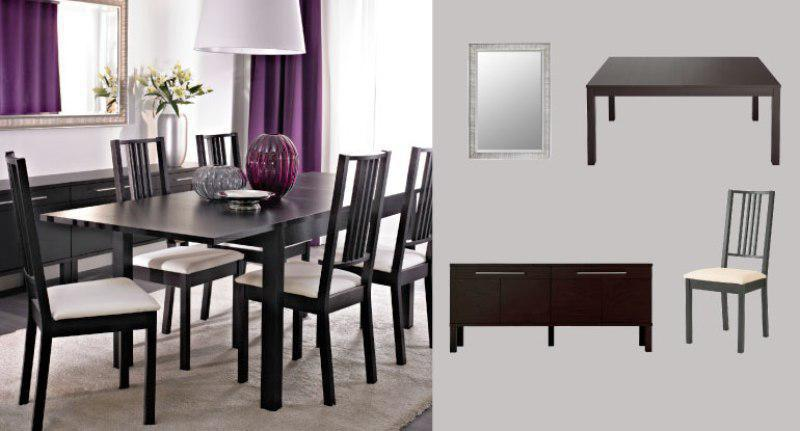 Contemporary Dining Room Tables IKEA
