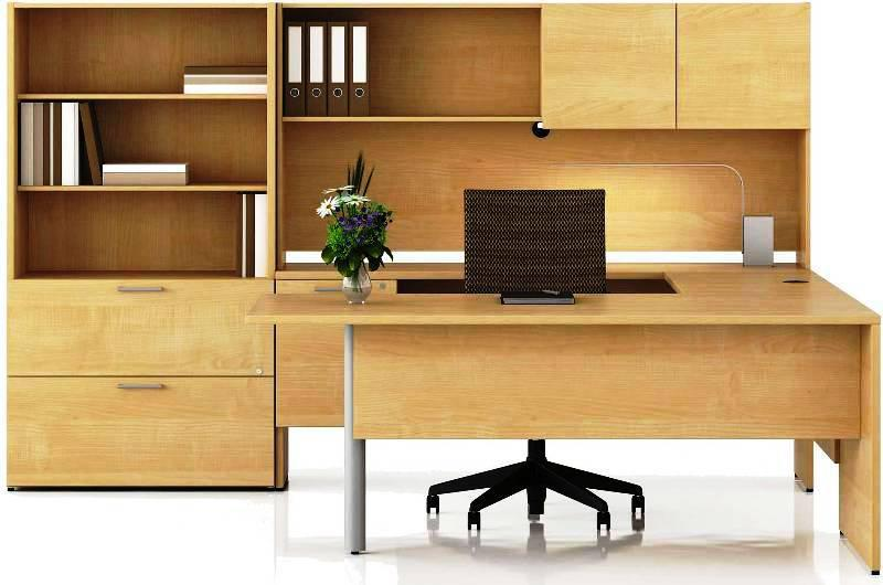 Contemporary Wood IKEA Office Furniture
