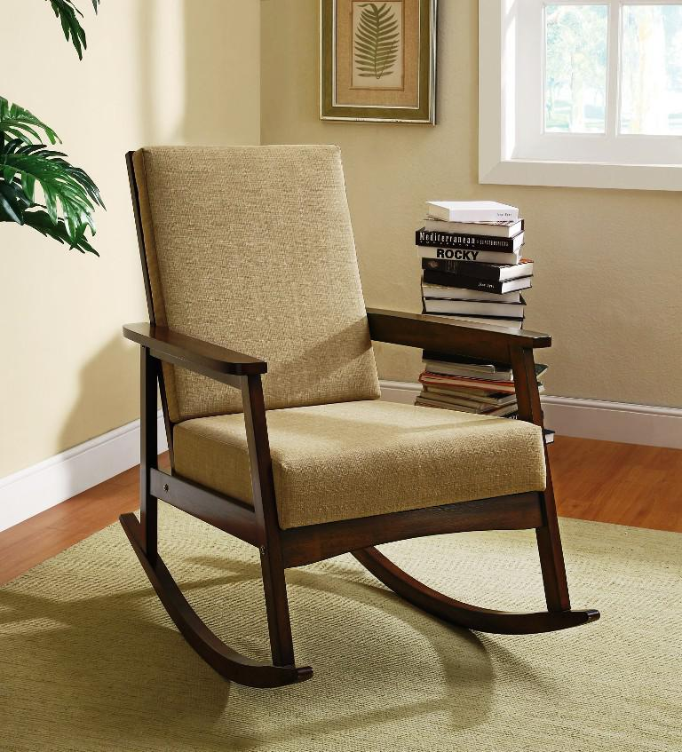 Cushioned IKEA Rocking Chair