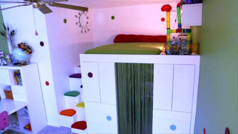 Custom Design Cabinet Bed IKEA