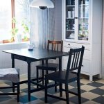 Dining Room Tables IKEA One Drop Leaf Extension