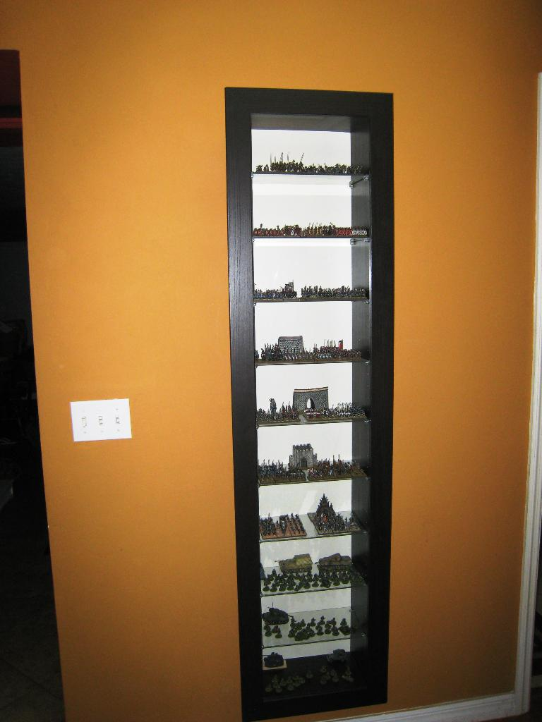 Image of: Display Case IKEA
