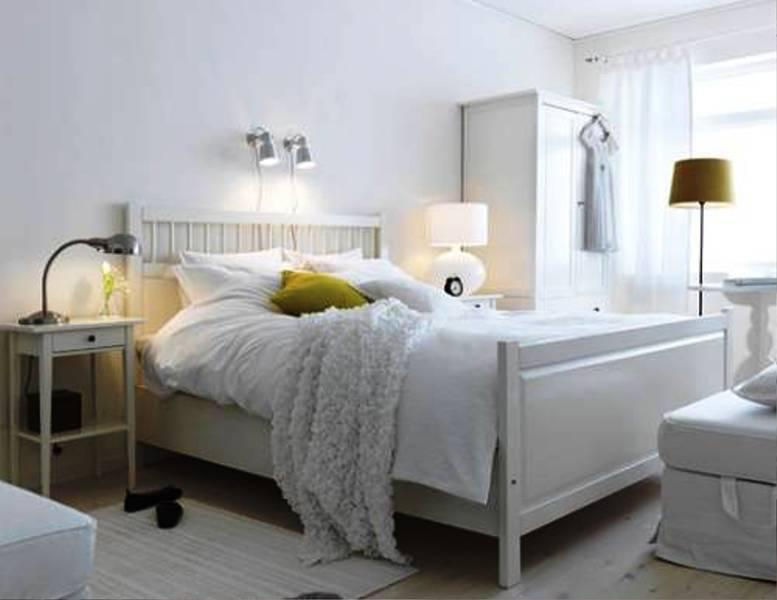 Elegant IKEA White Bedroom Furniture