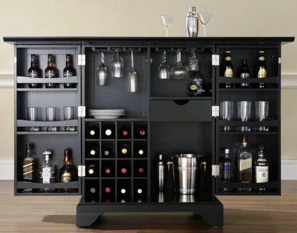 Expandable Bar Cabinet IKEA Designs Ideas
