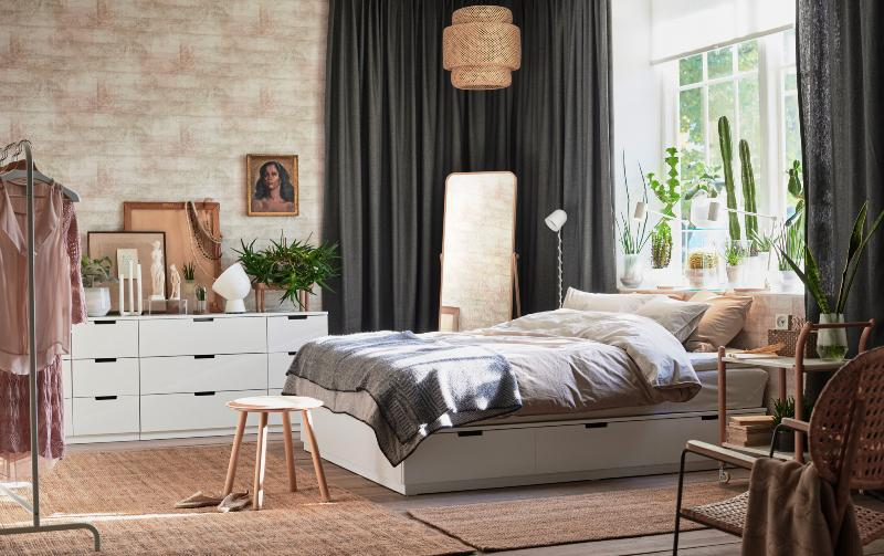 Fabulous IKEA White Bedroom Furniture