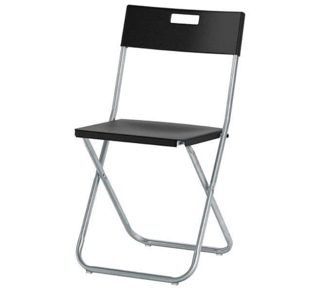 Image of: Folding IKEA Dining Chairs GUNDE Sale