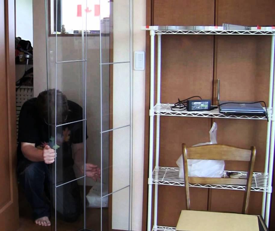 Image of: Glass Display Case IKEA
