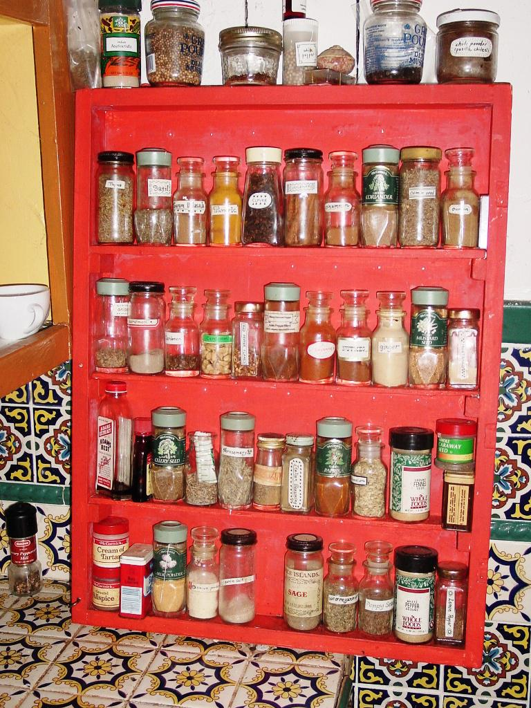 Hanging Spice Rack IKEA
