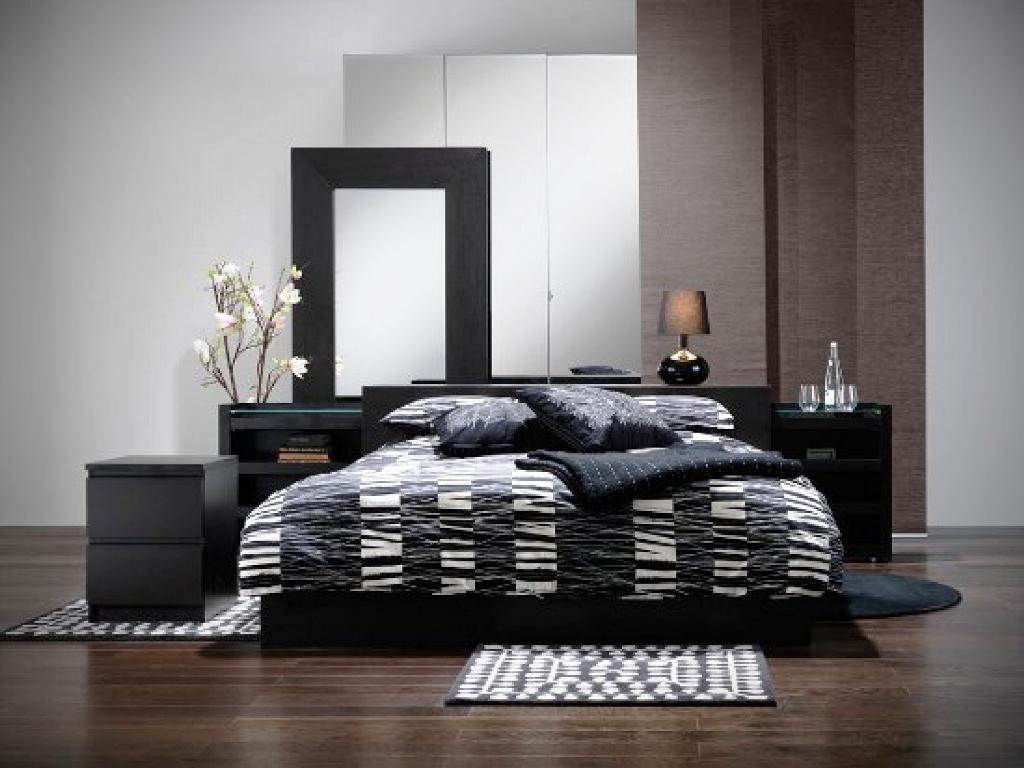 IKEA Black Bedroom Set