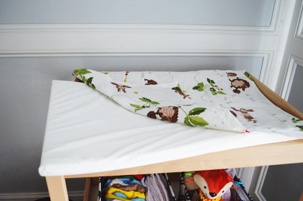 Image of: IKEA Changing Table Pad