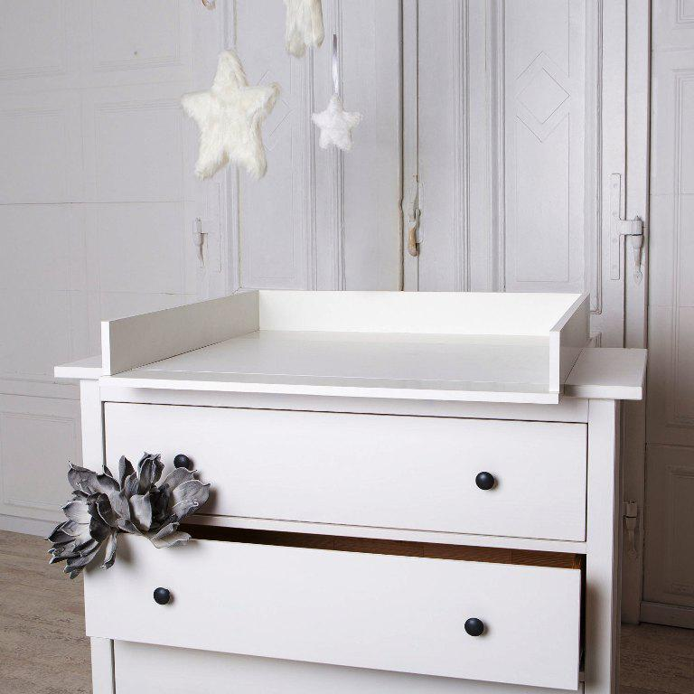 Image of: IKEA Changing Table Top