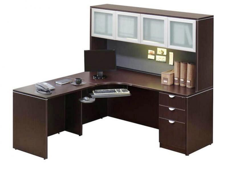IKEA Corner Desk With Hutch