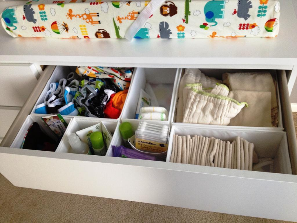 Image of: IKEA Diaper Changing Table