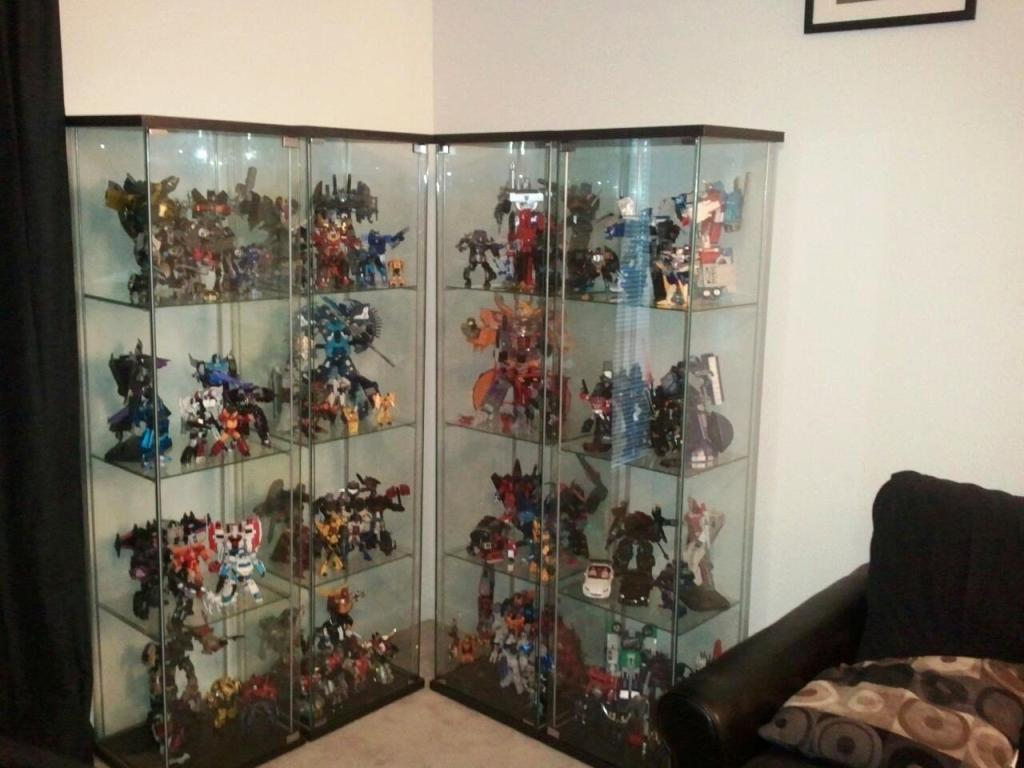 Image of: IKEA Display Cases