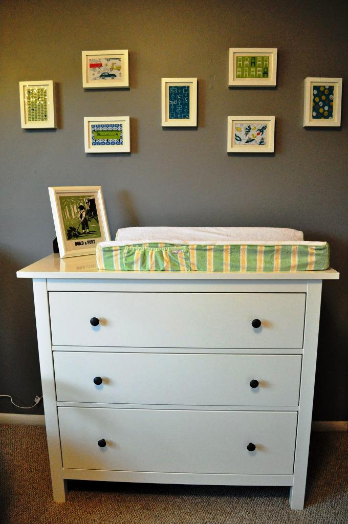Image of: IKEA Dresser Changing Table