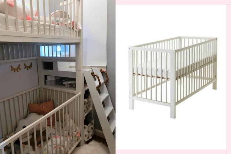 IKEA GULLIVER Crib Bunk Bed Hack Ideas