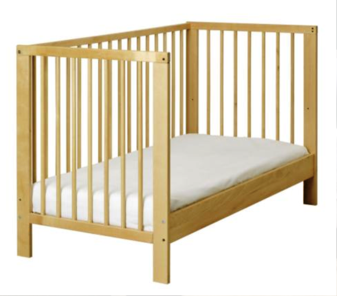 IKEA GULLIVER Crib To Toddler Bed