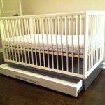 IKEA GULLIVER Crib With Drawers