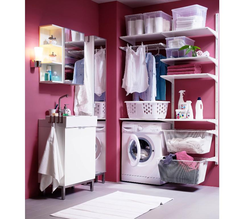 IKEA Laundry Room Organization Ideas