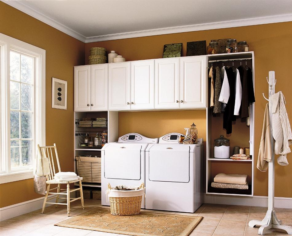IKEA Laundry Room Storage