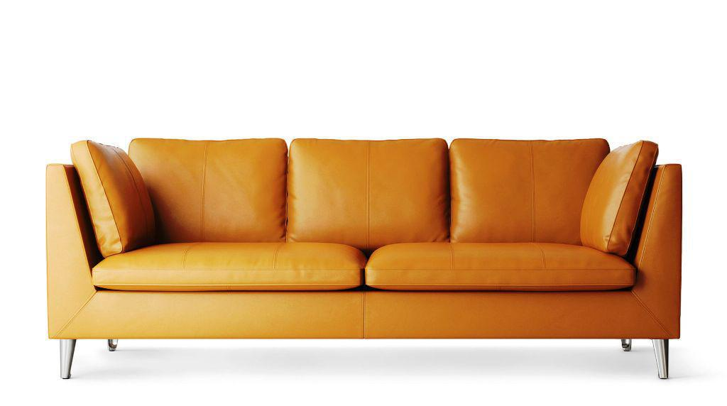 IKEA Leather Couch STOCKHOLM Bed