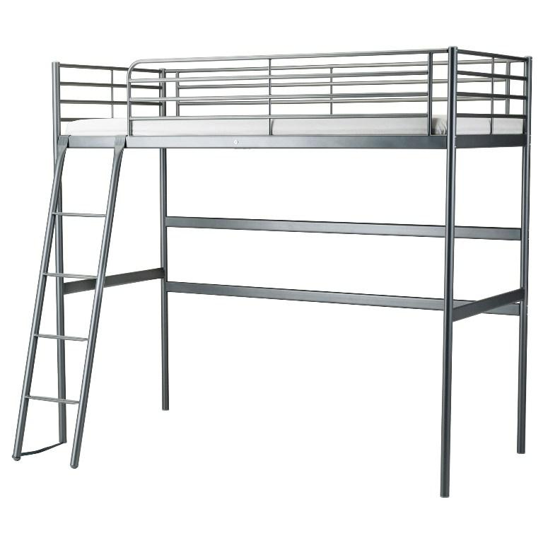 IKEA Metal Loft Bed