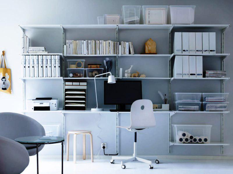 IKEA Office Furniture Bookcases White