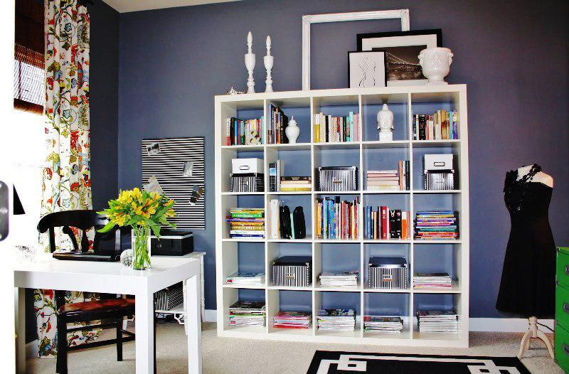 IKEA Office Furniture Storage Shelves