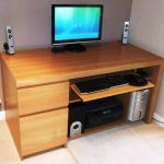 IKEA Office Furniture Wood Finish