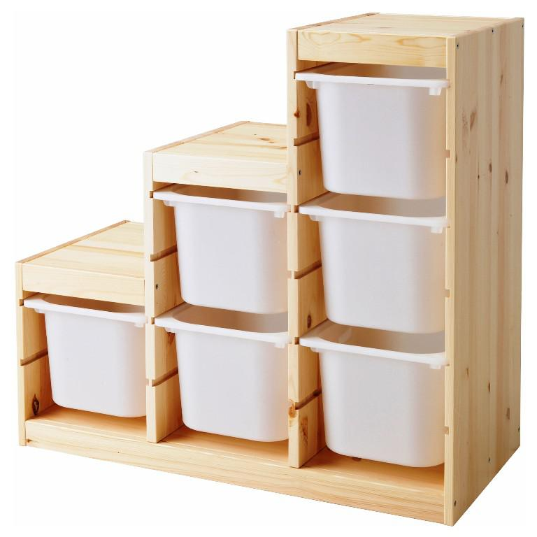 IKEA Storage Bins Ideas